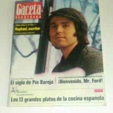 Coleccionismo de Revista Gaceta Ilustrada: GACETA ILUSTRADA NUM. 846, 24 DICIEMBRE 1972.. Lote 175391032