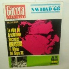 Coleccionismo de Revista Gaceta Ilustrada: GACETA ILUSTRADA NUM. 637, 22 DICIEMBRE 1968.. Lote 161545162