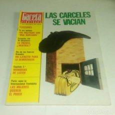 Coleccionismo de Revista Gaceta Ilustrada: GACETA ILUSTRADA N° 1.077 - 29 MAYO 1977. Lote 163094666