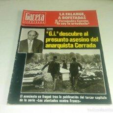 Colecionismo da Revista Gaceta Ilustrada: GACETA ILUSTRADA N° 1.048 - 7 NOVIEMBRE 1976. Lote 201176873
