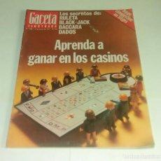 Coleccionismo de Revista Gaceta Ilustrada: GACETA ILUSTRADA N° 1.068 - 27 MARZO 1977. Lote 163366366