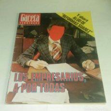 Coleccionismo de Revista Gaceta Ilustrada: GACETA ILUSTRADA N° 1.055 - 26 DICIEMBRE 1976. Lote 163370538