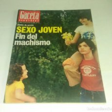 Coleccionismo de Revista Gaceta Ilustrada: GACETA ILUSTRADA N° 1.053 - 12 DICIEMBRE 1976. Lote 163371870
