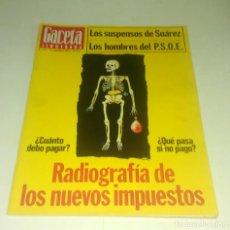 Coleccionismo de Revista Gaceta Ilustrada: GACETA ILUSTRADA N° 1.101 - 13 NOVIEMBRE 1977. Lote 163375966
