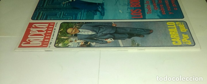Coleccionismo de Revista Gaceta Ilustrada: Carrillo...los borrachos...Gaceta ilustrada n° 1.056 - 2 enero 1977 - Foto 3 - 163404178