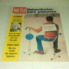 Coleccionismo de Revista Gaceta Ilustrada: LA DIADA...XAVIER CUGAT. GACETA ILUSTRADA N° 1.093- 18 SEPTIEMBRE 1977. Lote 163414926