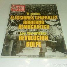 Coleccionismo de Revista Gaceta Ilustrada: ELECCIONES GENERALES...LOS TERRORISTAS. GACETA ILUSTRADA N° 1.061 - 6 FEBRERO 1977.. Lote 163593158