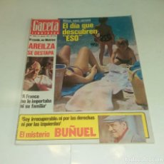 Coleccionismo de Revista Gaceta Ilustrada: NIÑOS VERANO...AREILZA...BUÑUEL. GACETA ILUSTRADA N° 1.089 - 21 AGOSTO 1977.. Lote 163594878