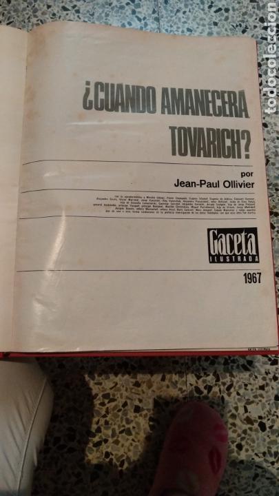 Coleccionismo de Revista Gaceta Ilustrada: ENCUADERNACION DE LA GACETA ILUSTRADA. ESPECIAL REVOLUCION RUSA - Foto 2 - 165336261