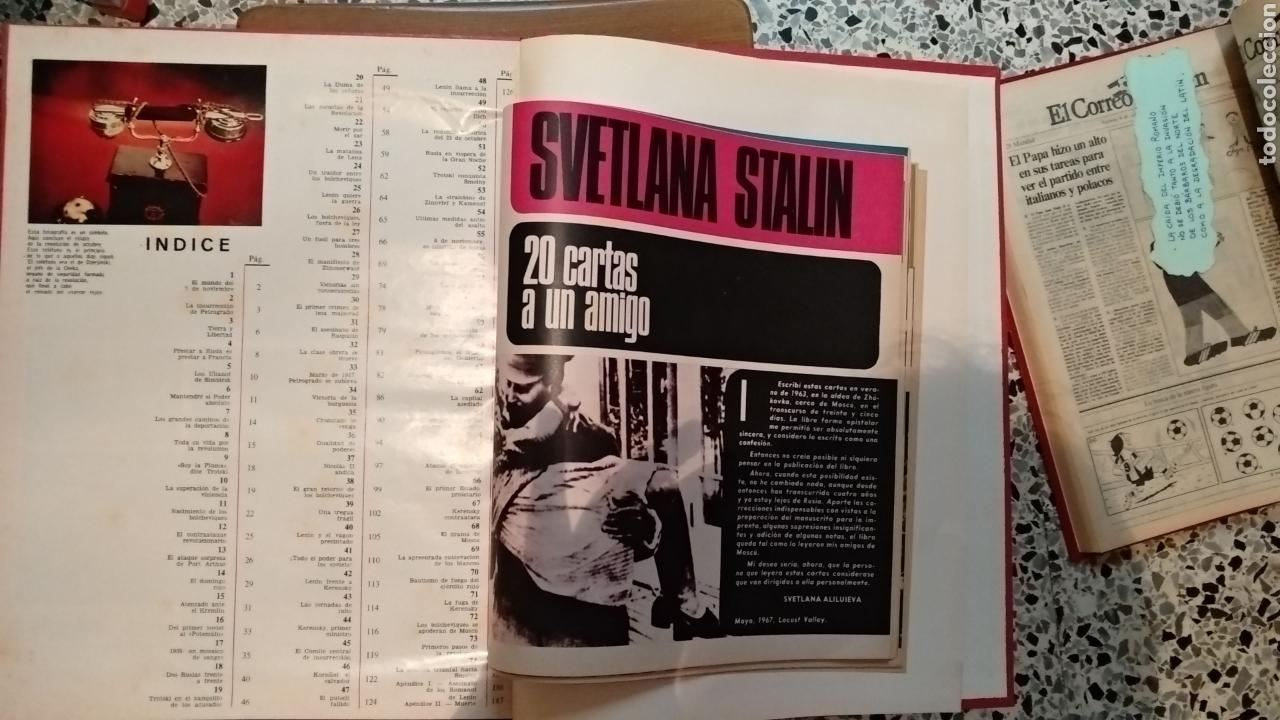 Coleccionismo de Revista Gaceta Ilustrada: ENCUADERNACION DE LA GACETA ILUSTRADA. ESPECIAL REVOLUCION RUSA - Foto 3 - 165336261