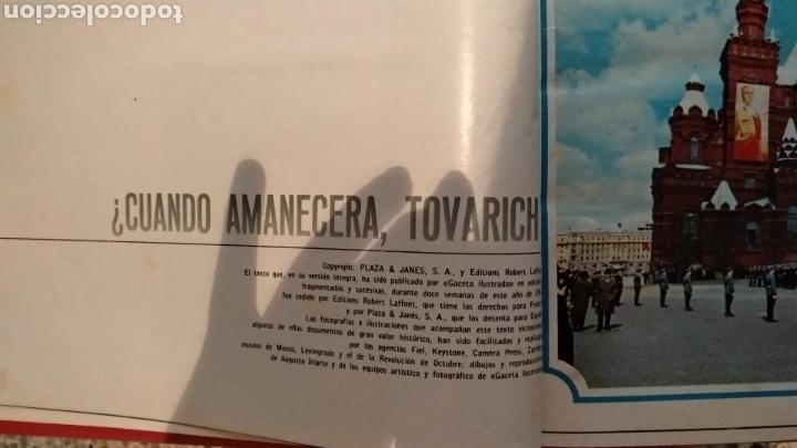 ENCUADERNACION DE LA GACETA ILUSTRADA. ESPECIAL REVOLUCION RUSA (Coleccionismo - Revistas y Periódicos Modernos (a partir de 1.940) - Revista Gaceta Ilustrada)