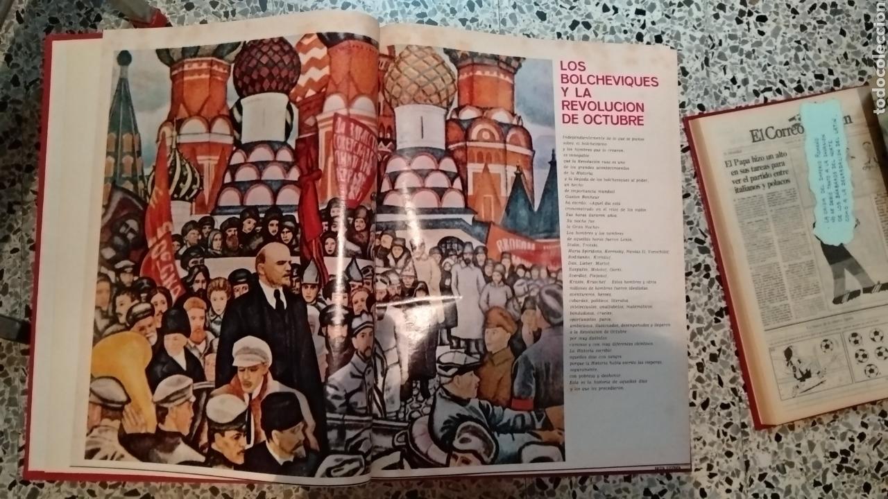 Coleccionismo de Revista Gaceta Ilustrada: ENCUADERNACION DE LA GACETA ILUSTRADA. ESPECIAL REVOLUCION RUSA - Foto 4 - 165336261