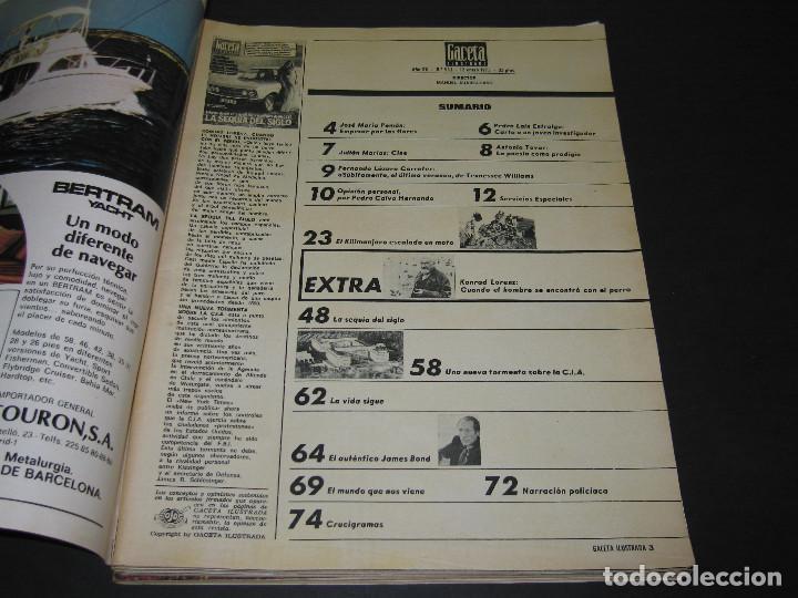 Coleccionismo de Revista Gaceta Ilustrada: 4 Revistas GACETA ILUSTRADA - 1975 - núm. 953 de 12.01 - 954 de 19.01 - 955 de 26.01 - 966 de 13.04 - Foto 4 - 166929344