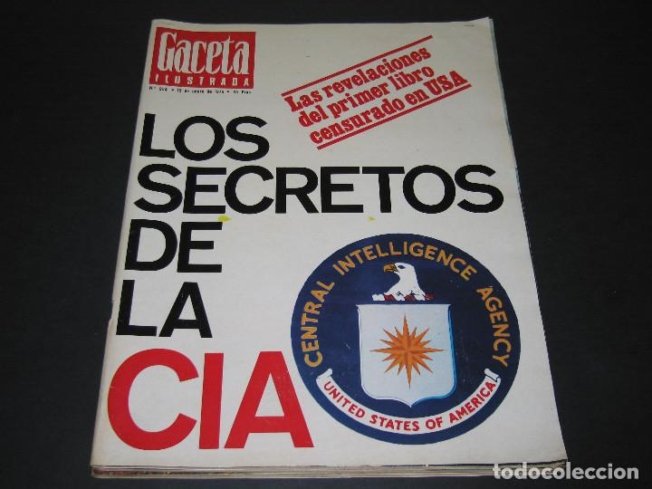 Coleccionismo de Revista Gaceta Ilustrada: 4 Revistas GACETA ILUSTRADA - 1975 - núm. 953 de 12.01 - 954 de 19.01 - 955 de 26.01 - 966 de 13.04 - Foto 6 - 166929344
