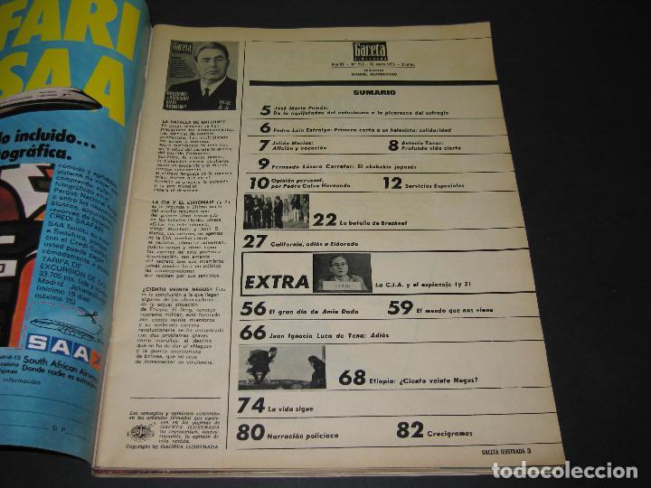 Coleccionismo de Revista Gaceta Ilustrada: 4 Revistas GACETA ILUSTRADA - 1975 - núm. 953 de 12.01 - 954 de 19.01 - 955 de 26.01 - 966 de 13.04 - Foto 10 - 166929344