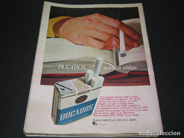 Coleccionismo de Revista Gaceta Ilustrada: 6 GACETA ILUST. - 1974 - núm. 932 18.08 - 934 01.09 - 937 22.09 - 942 27.10 - 946 24.11 - 951 29.12 - Foto 5 - 166929656