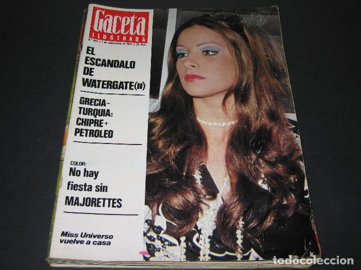Coleccionismo de Revista Gaceta Ilustrada: 6 GACETA ILUST. - 1974 - núm. 932 18.08 - 934 01.09 - 937 22.09 - 942 27.10 - 946 24.11 - 951 29.12 - Foto 6 - 166929656