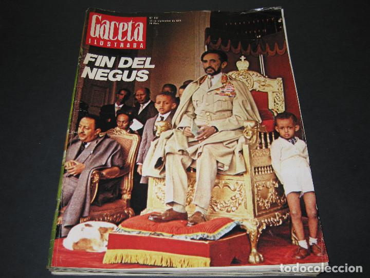 Coleccionismo de Revista Gaceta Ilustrada: 6 GACETA ILUST. - 1974 - núm. 932 18.08 - 934 01.09 - 937 22.09 - 942 27.10 - 946 24.11 - 951 29.12 - Foto 9 - 166929656
