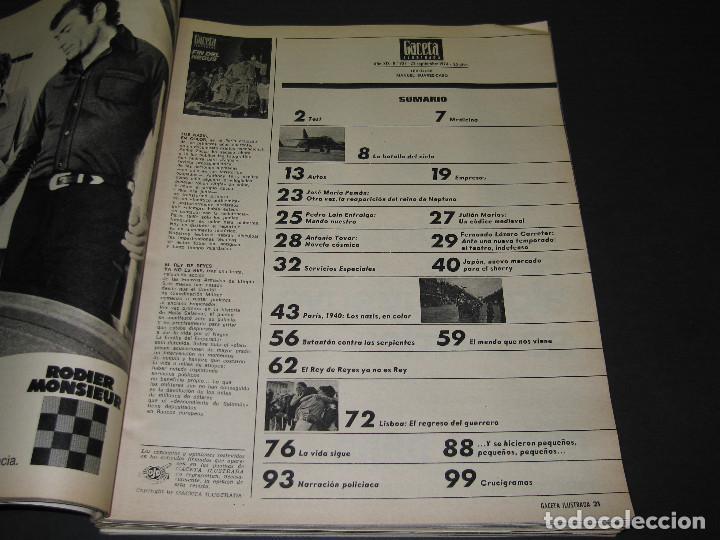 Coleccionismo de Revista Gaceta Ilustrada: 6 GACETA ILUST. - 1974 - núm. 932 18.08 - 934 01.09 - 937 22.09 - 942 27.10 - 946 24.11 - 951 29.12 - Foto 10 - 166929656
