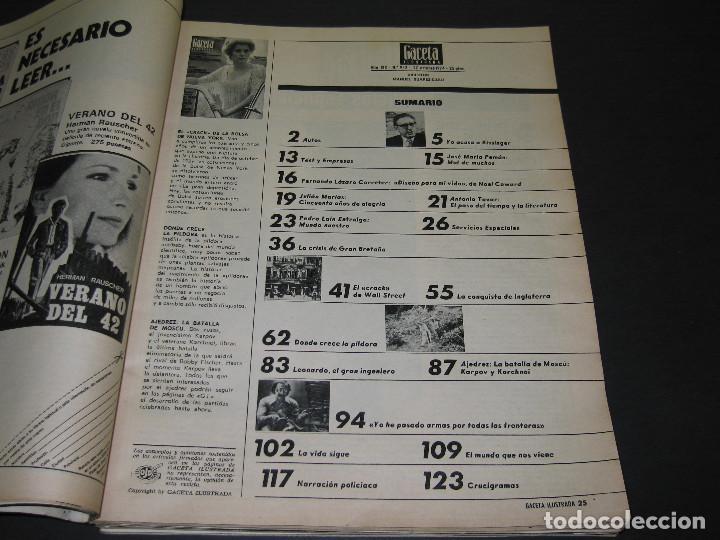 Coleccionismo de Revista Gaceta Ilustrada: 6 GACETA ILUST. - 1974 - núm. 932 18.08 - 934 01.09 - 937 22.09 - 942 27.10 - 946 24.11 - 951 29.12 - Foto 14 - 166929656
