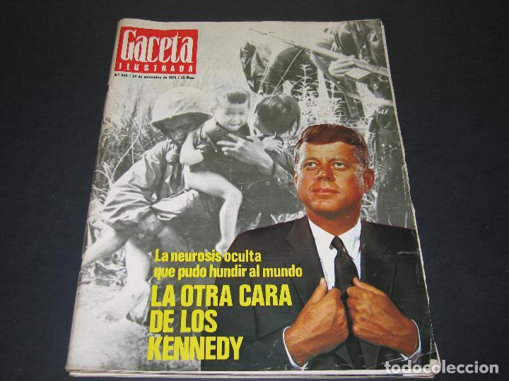 Coleccionismo de Revista Gaceta Ilustrada: 6 GACETA ILUST. - 1974 - núm. 932 18.08 - 934 01.09 - 937 22.09 - 942 27.10 - 946 24.11 - 951 29.12 - Foto 16 - 166929656