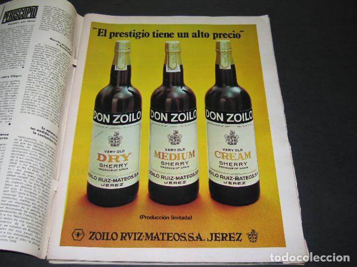Coleccionismo de Revista Gaceta Ilustrada: 6 GACETA ILUST. - 1974 - núm. 932 18.08 - 934 01.09 - 937 22.09 - 942 27.10 - 946 24.11 - 951 29.12 - Foto 17 - 166929656