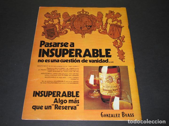 Coleccionismo de Revista Gaceta Ilustrada: 6 GACETA ILUST. - 1974 - núm. 932 18.08 - 934 01.09 - 937 22.09 - 942 27.10 - 946 24.11 - 951 29.12 - Foto 24 - 166929656