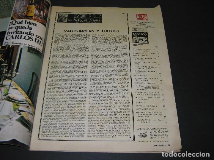 Coleccionismo de Revista Gaceta Ilustrada: Revista GACETA ILUSTRADA - núm. 744 - GRAN CONCURSO - 10.01.1971 - 58 pág. - Foto 2 - 166930312