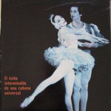 Collectionnisme de Magazine Gaceta Ilustrada: RECORTE REVISTA GACETA ILUSTRADA Nº 1045 1976 ALICIA ALONSO. 5 PGS. Lote 166976520