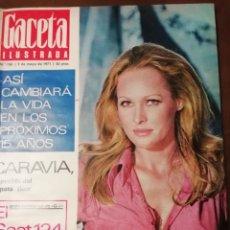 Coleccionismo de Revista Gaceta Ilustrada: GACETA ILUSTRADA Nº 760 1971 URSULA ANDRESS - CARAVIA (ASTURIAS )FLUOR -JOSÉ HERNANDEZ. Lote 168126600