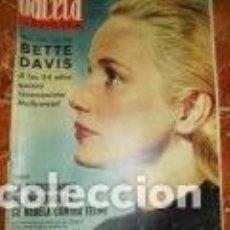 Coleccionismo de Revista Gaceta Ilustrada: GACETA ILUSTRADA Nº 322, 8 DICIEMBRE 1962. Lote 169239564