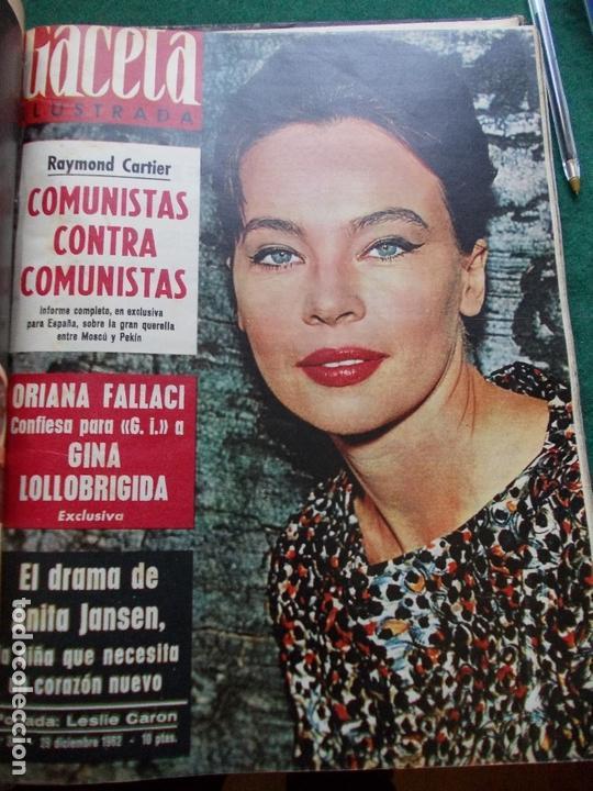 Coleccionismo de Revista Gaceta Ilustrada: GACETA ILUSTRADA AÑO 1962 COMPLETA FOTOS DE LAS PORTADAS - Foto 2 - 169743932