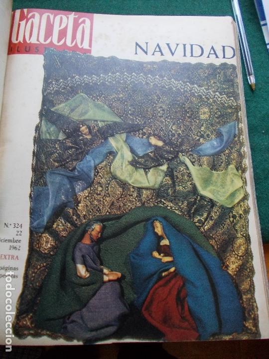 Coleccionismo de Revista Gaceta Ilustrada: GACETA ILUSTRADA AÑO 1962 COMPLETA FOTOS DE LAS PORTADAS - Foto 3 - 169743932