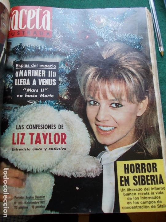 Coleccionismo de Revista Gaceta Ilustrada: GACETA ILUSTRADA AÑO 1962 COMPLETA FOTOS DE LAS PORTADAS - Foto 4 - 169743932