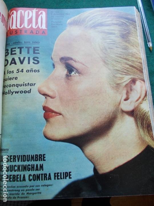 Coleccionismo de Revista Gaceta Ilustrada: GACETA ILUSTRADA AÑO 1962 COMPLETA FOTOS DE LAS PORTADAS - Foto 5 - 169743932