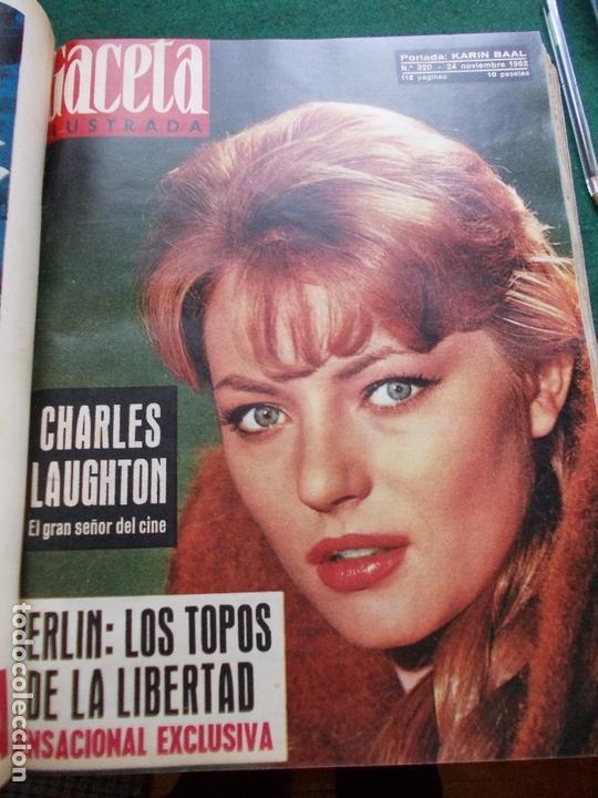 Coleccionismo de Revista Gaceta Ilustrada: GACETA ILUSTRADA AÑO 1962 COMPLETA FOTOS DE LAS PORTADAS - Foto 7 - 169743932