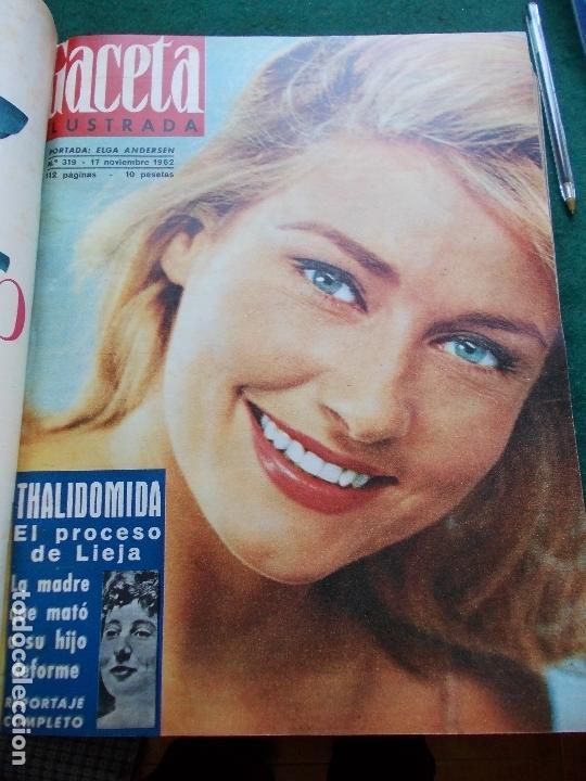 Coleccionismo de Revista Gaceta Ilustrada: GACETA ILUSTRADA AÑO 1962 COMPLETA FOTOS DE LAS PORTADAS - Foto 8 - 169743932