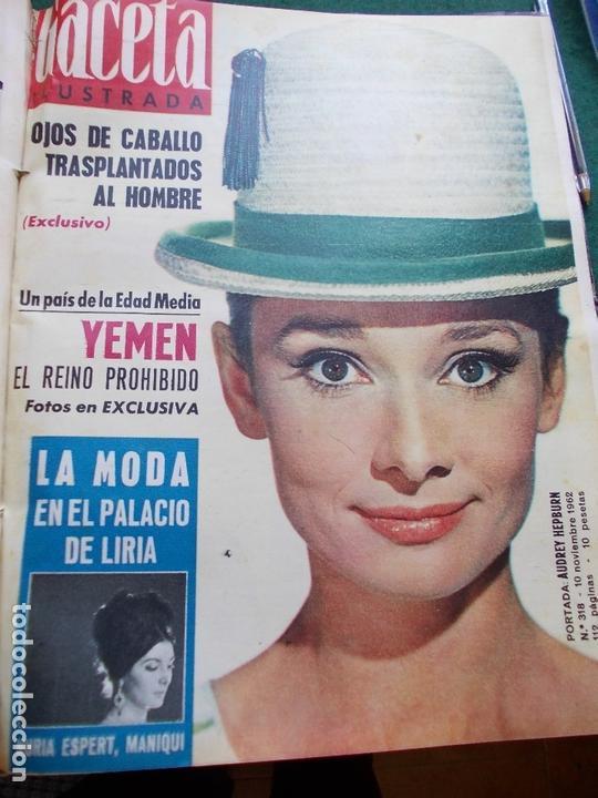 Coleccionismo de Revista Gaceta Ilustrada: GACETA ILUSTRADA AÑO 1962 COMPLETA FOTOS DE LAS PORTADAS - Foto 9 - 169743932