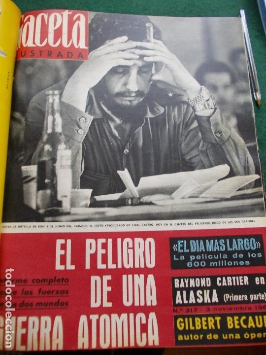 Coleccionismo de Revista Gaceta Ilustrada: GACETA ILUSTRADA AÑO 1962 COMPLETA FOTOS DE LAS PORTADAS - Foto 10 - 169743932