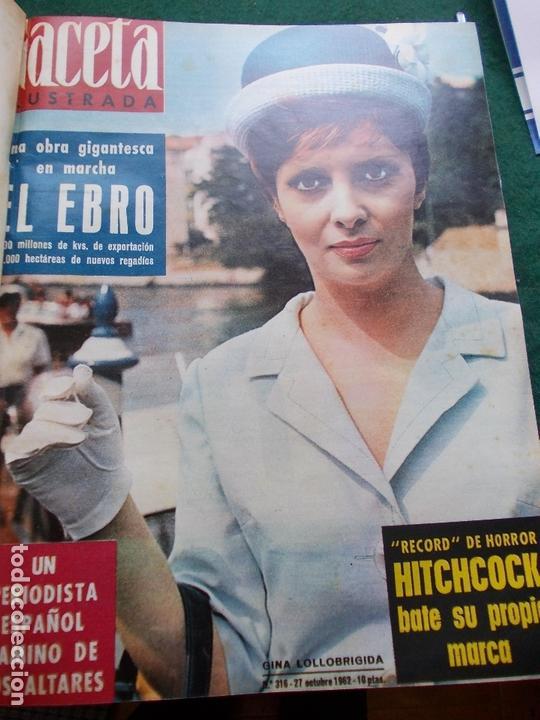 Coleccionismo de Revista Gaceta Ilustrada: GACETA ILUSTRADA AÑO 1962 COMPLETA FOTOS DE LAS PORTADAS - Foto 11 - 169743932