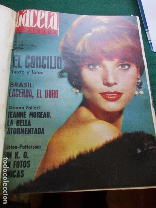 Coleccionismo de Revista Gaceta Ilustrada: GACETA ILUSTRADA AÑO 1962 COMPLETA FOTOS DE LAS PORTADAS - Foto 12 - 169743932
