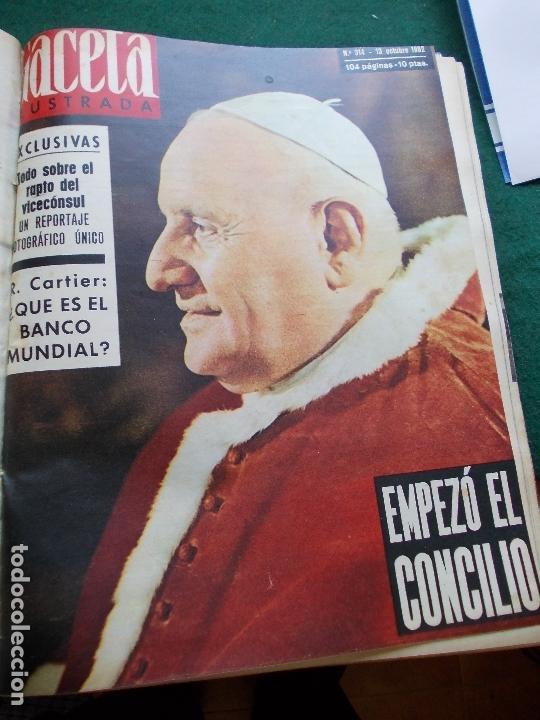 Coleccionismo de Revista Gaceta Ilustrada: GACETA ILUSTRADA AÑO 1962 COMPLETA FOTOS DE LAS PORTADAS - Foto 13 - 169743932
