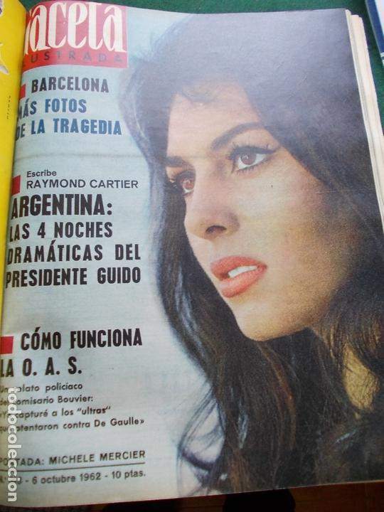 Coleccionismo de Revista Gaceta Ilustrada: GACETA ILUSTRADA AÑO 1962 COMPLETA FOTOS DE LAS PORTADAS - Foto 14 - 169743932