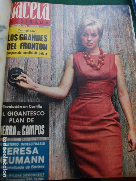 Coleccionismo de Revista Gaceta Ilustrada: GACETA ILUSTRADA AÑO 1962 COMPLETA FOTOS DE LAS PORTADAS - Foto 15 - 169743932