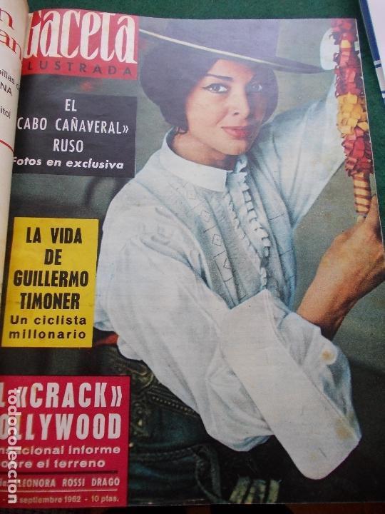 Coleccionismo de Revista Gaceta Ilustrada: GACETA ILUSTRADA AÑO 1962 COMPLETA FOTOS DE LAS PORTADAS - Foto 16 - 169743932