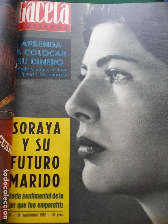 Coleccionismo de Revista Gaceta Ilustrada: GACETA ILUSTRADA AÑO 1962 COMPLETA FOTOS DE LAS PORTADAS - Foto 17 - 169743932