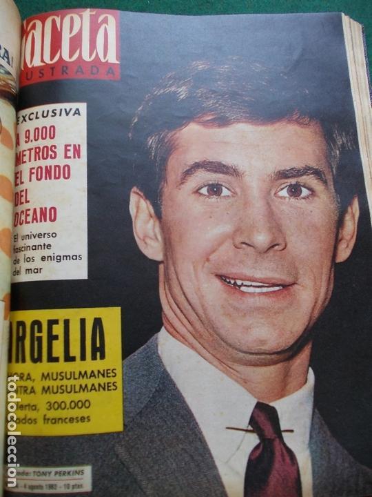 Coleccionismo de Revista Gaceta Ilustrada: GACETA ILUSTRADA AÑO 1962 COMPLETA FOTOS DE LAS PORTADAS - Foto 23 - 169743932