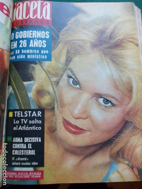 Coleccionismo de Revista Gaceta Ilustrada: GACETA ILUSTRADA AÑO 1962 COMPLETA FOTOS DE LAS PORTADAS - Foto 24 - 169743932