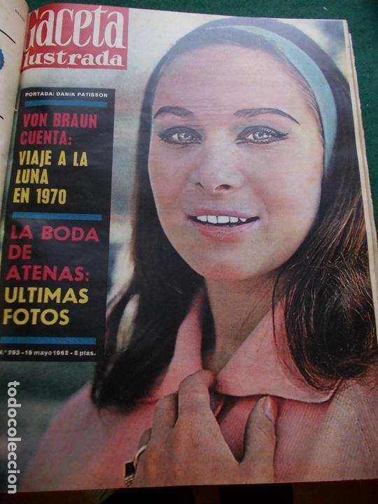 Coleccionismo de Revista Gaceta Ilustrada: GACETA ILUSTRADA AÑO 1962 COMPLETA FOTOS DE LAS PORTADAS - Foto 25 - 169743932