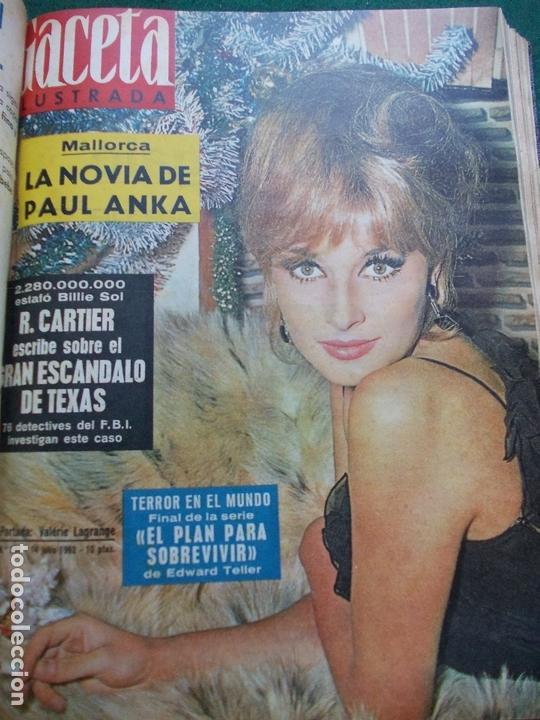 Coleccionismo de Revista Gaceta Ilustrada: GACETA ILUSTRADA AÑO 1962 COMPLETA FOTOS DE LAS PORTADAS - Foto 26 - 169743932